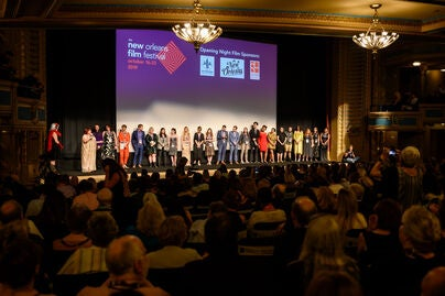 Opening night of the 2019 New Orleans Film Festival at the Orpheum Theater
