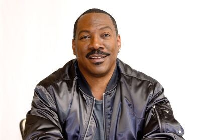Actor, producer and comedian Eddie Murphy, Golden Globe winner