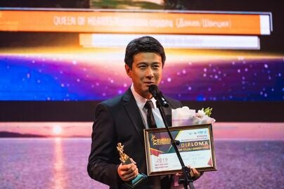 farkhat_sharipov_winner_of_grand_prix_for_feature_film at the Eurasia Film festival 2019