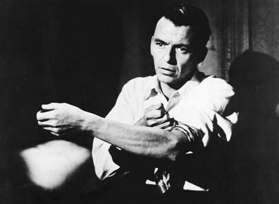 """Frank Sinatra in """"The Man with the Golden Arm"""" (1955)"""