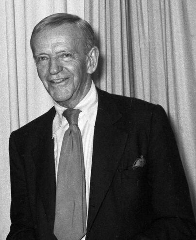 Actor, dancer and choreographer Fred Astaire, Golden Globe winner