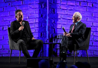 Bruce Springsteen and Martin Scorsese during FYSEE Netflix 2019