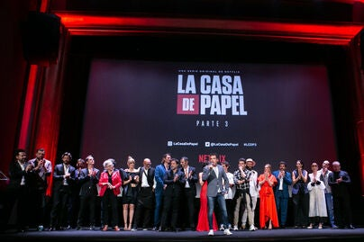 Premiere of season 3 of the Netflix series Money Heist, July 2019