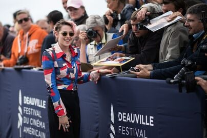 Actress Kristen Stewart in Deauville 2019