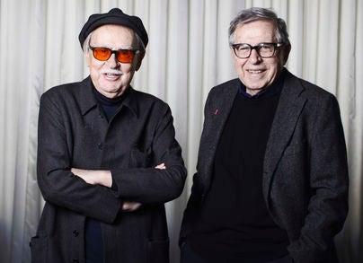 Italian Filmmakers Taviani Brothers