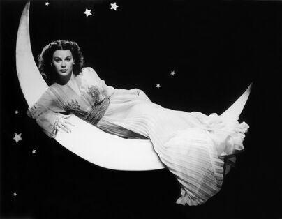 Actress Hedy Lammar
