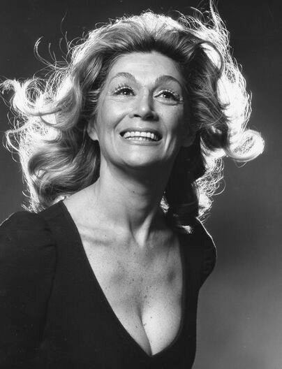 Actress Sylvia Miles,Golden Globe nominee