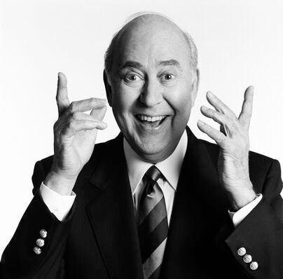 Writer, producer, director and actor Carl Reiner