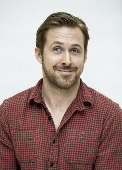 Actor Ryan Gosling, Golden Globe winner