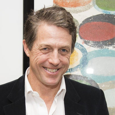 Actor Hugh Grant ,Golden Globe winner