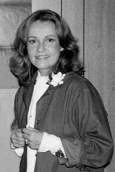 Actress and director Jeanne Moreau