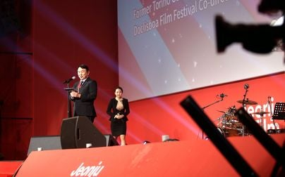Lee Chung jik, director of the Jeonju Film Festival