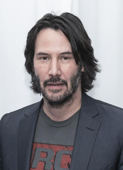 Actor Keanu Reeves