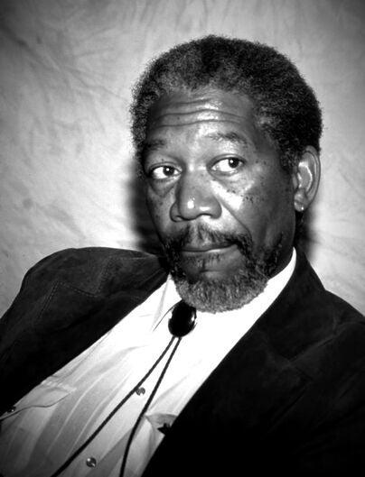 Actor Morgan Freeman, Golden Globe winner, Cecil B. deMille award recipient
