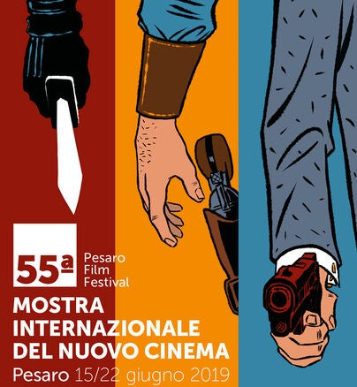 Poster of the Pesaro film festival