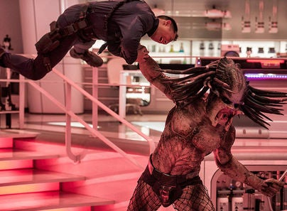 "Scene from ""The Predator"""