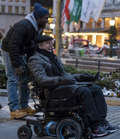 "Scene from ""The Upside"""