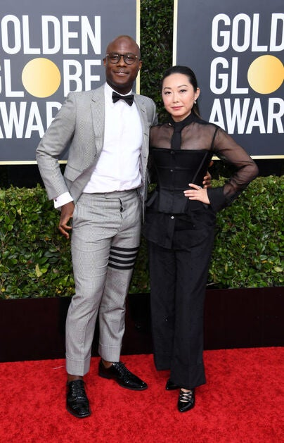 Directors Lulu Wang and Barry Jenkins