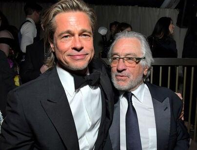 Brad Pitt and Robert DeNiro