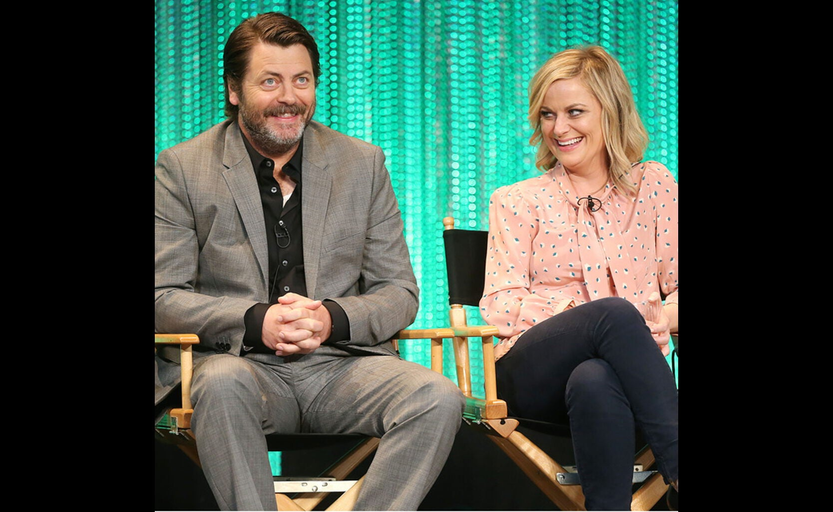 parks and recreation at paleyfest 2014 golden globes. Black Bedroom Furniture Sets. Home Design Ideas