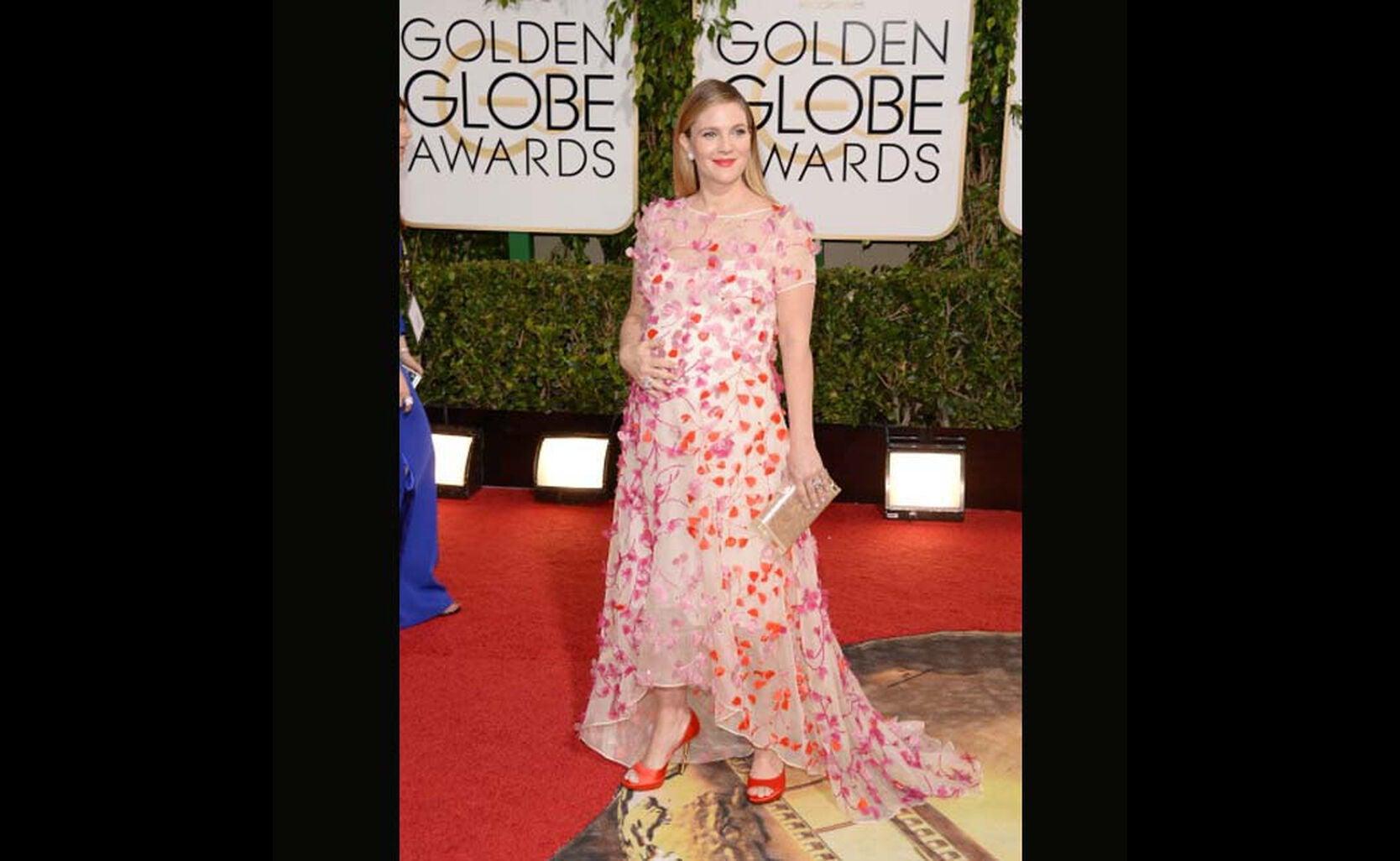 Stars Take Fashion Risks on the Golden Globes Red Carpet ...