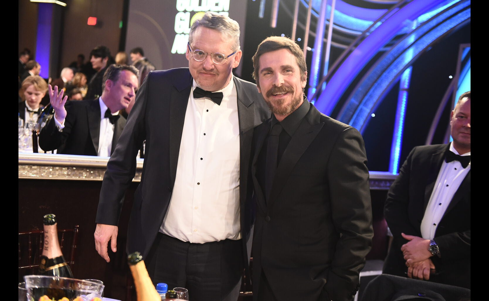 Christian Bale and Director Andy McCay