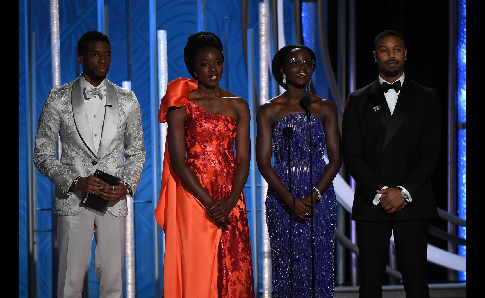 Black Panther cast presents