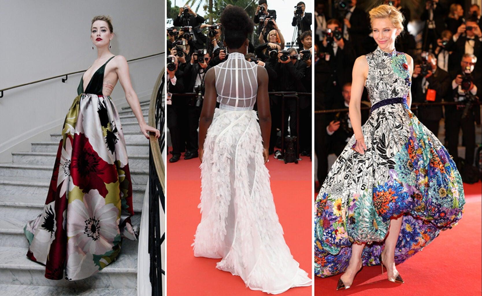 Amber Heard, Lupita Nyong'o and Cate Blanchett