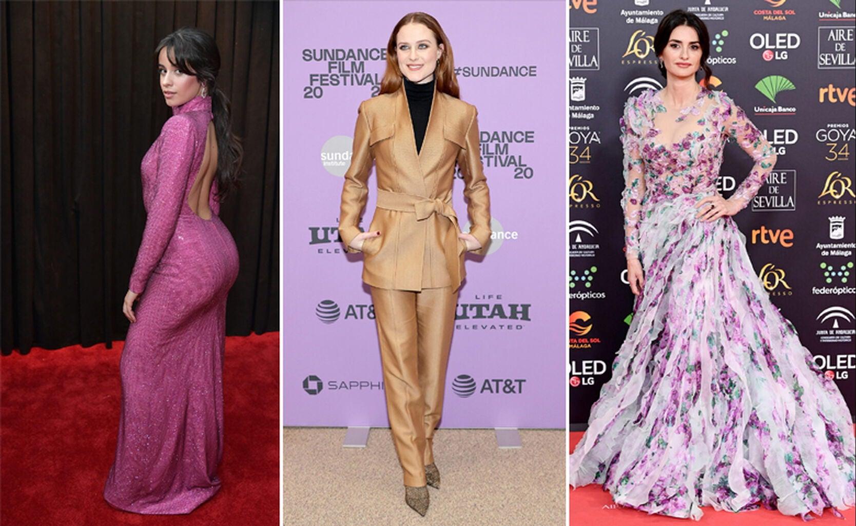 Camila Cabello, Evan Rachel Wood, Penelope Cruz