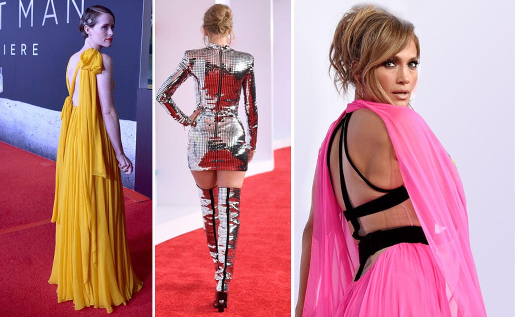 Claire Foy, Taylor Swift, Jennifer Lopez