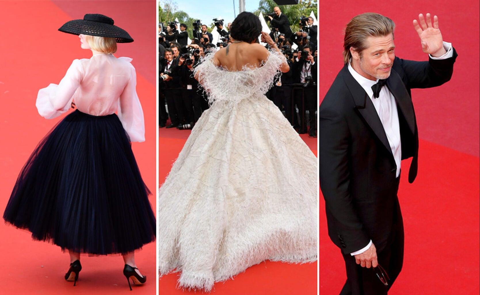 Elle Fanning, Michelle Rodriguez, Brad Pitt