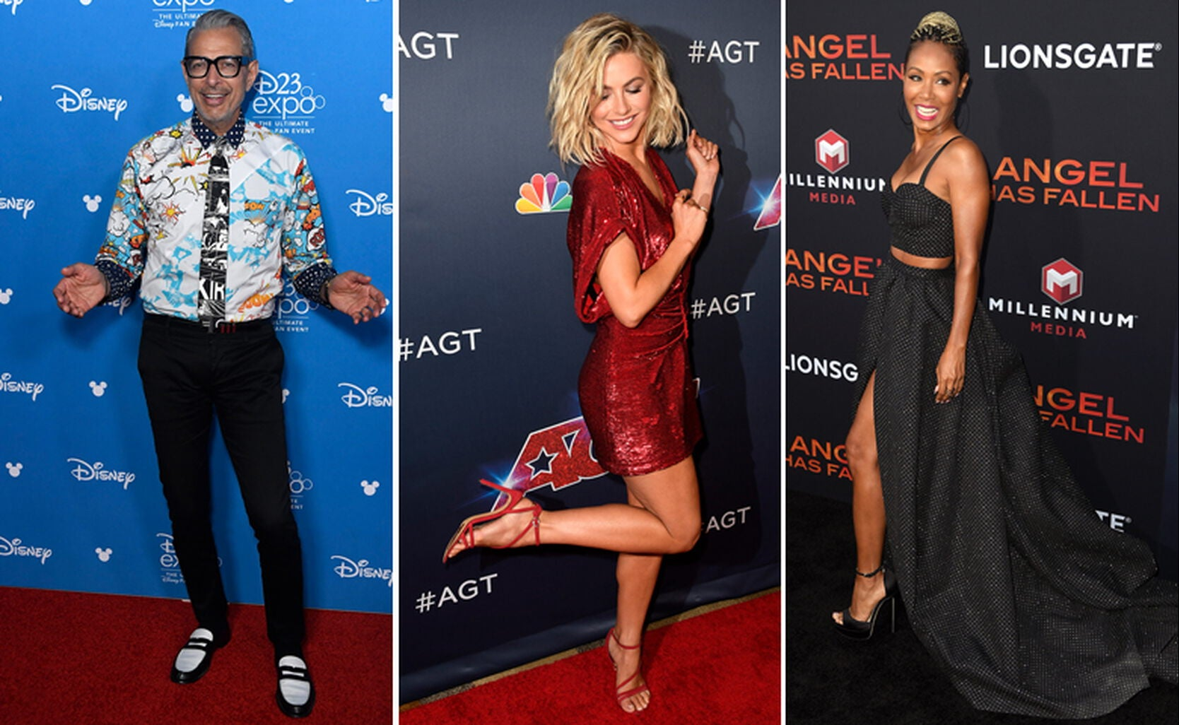 Jeff Goldblum, Julianne Hough, Jada Pinkett Smith