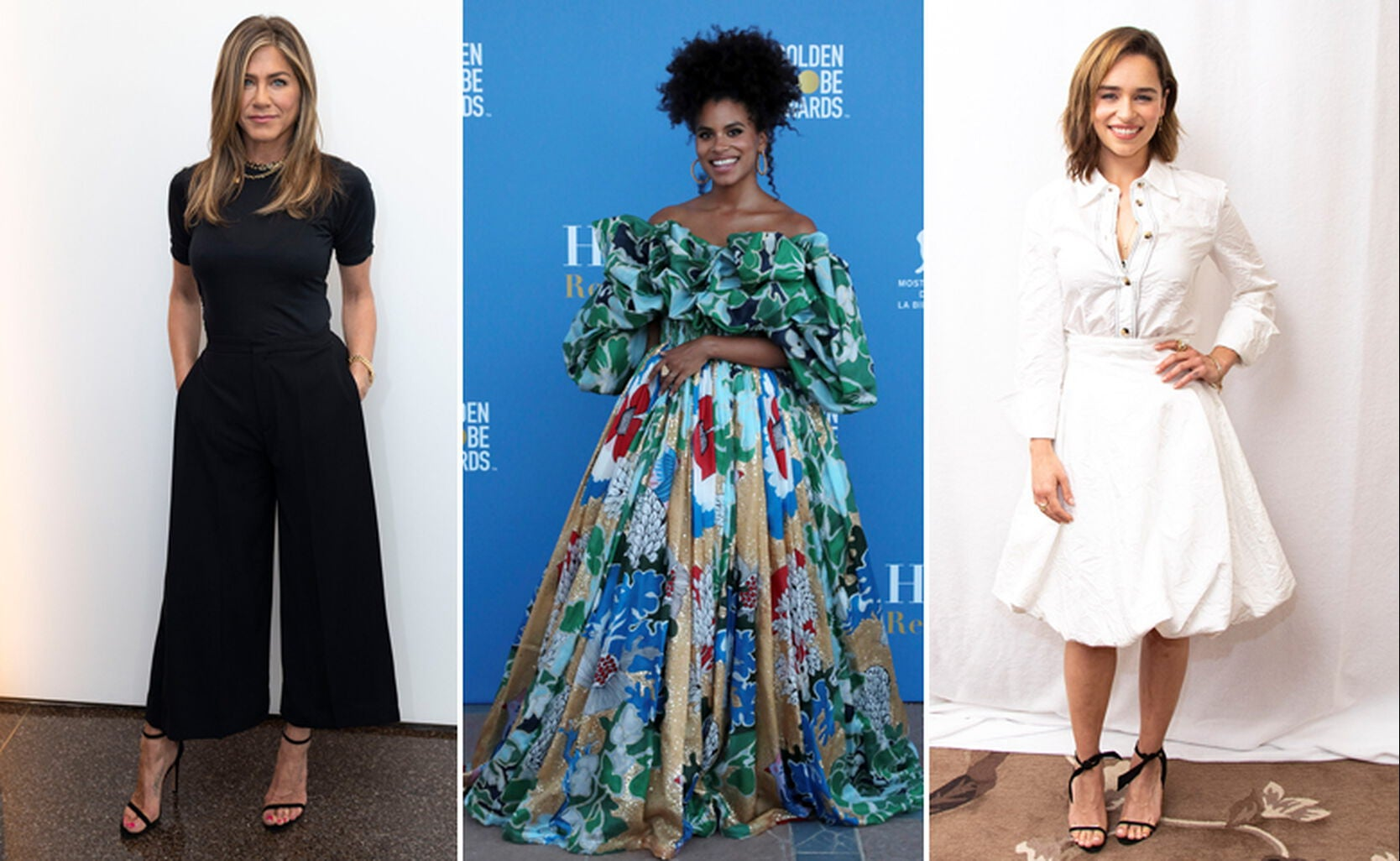 Jennifer Aniston, Zazie Beetz, Emilia Clarke