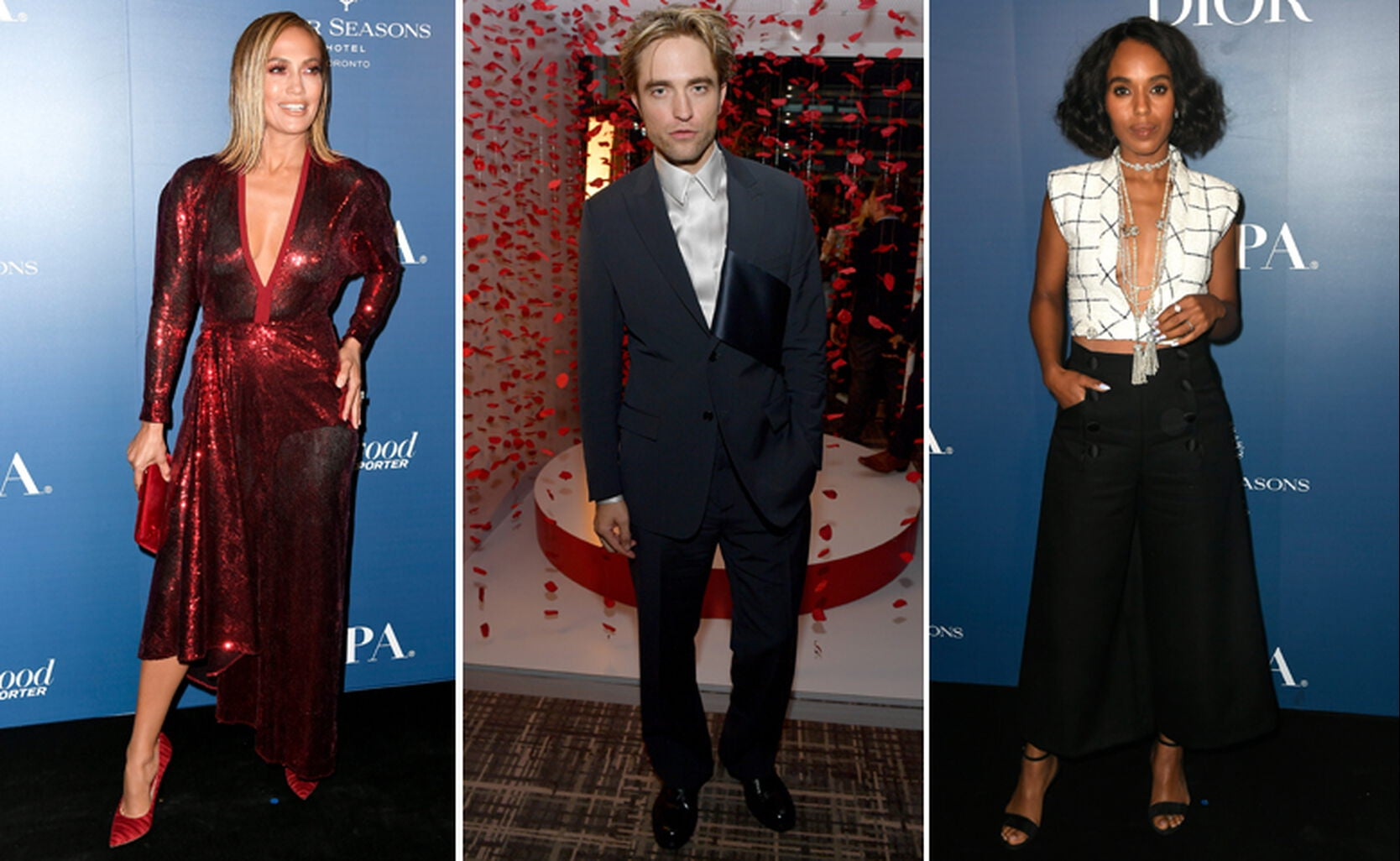 Jennifer Lopez, Robert Pattinson, Kerry Washington
