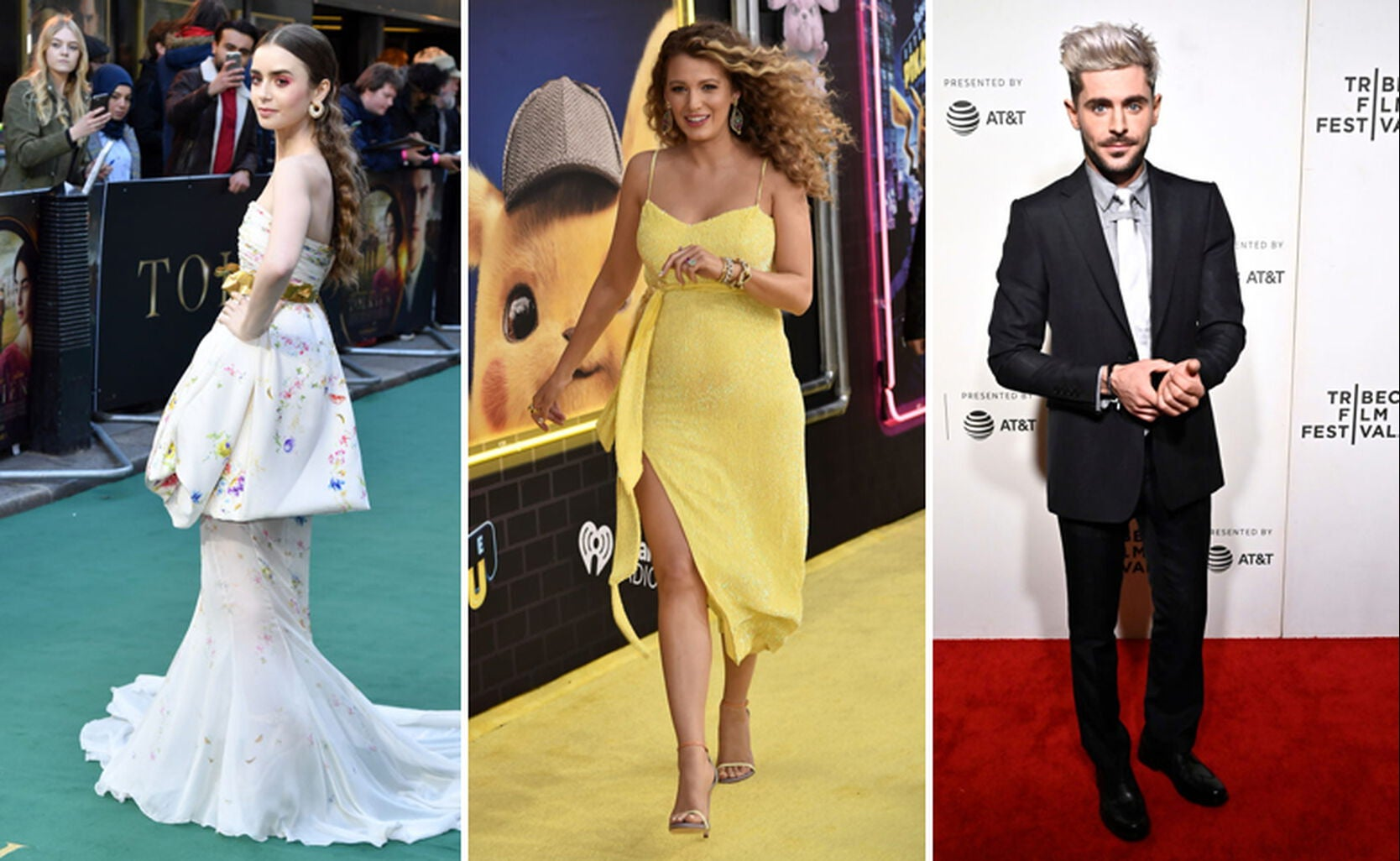 Lily Collins, Blake Lively, Zac Efron