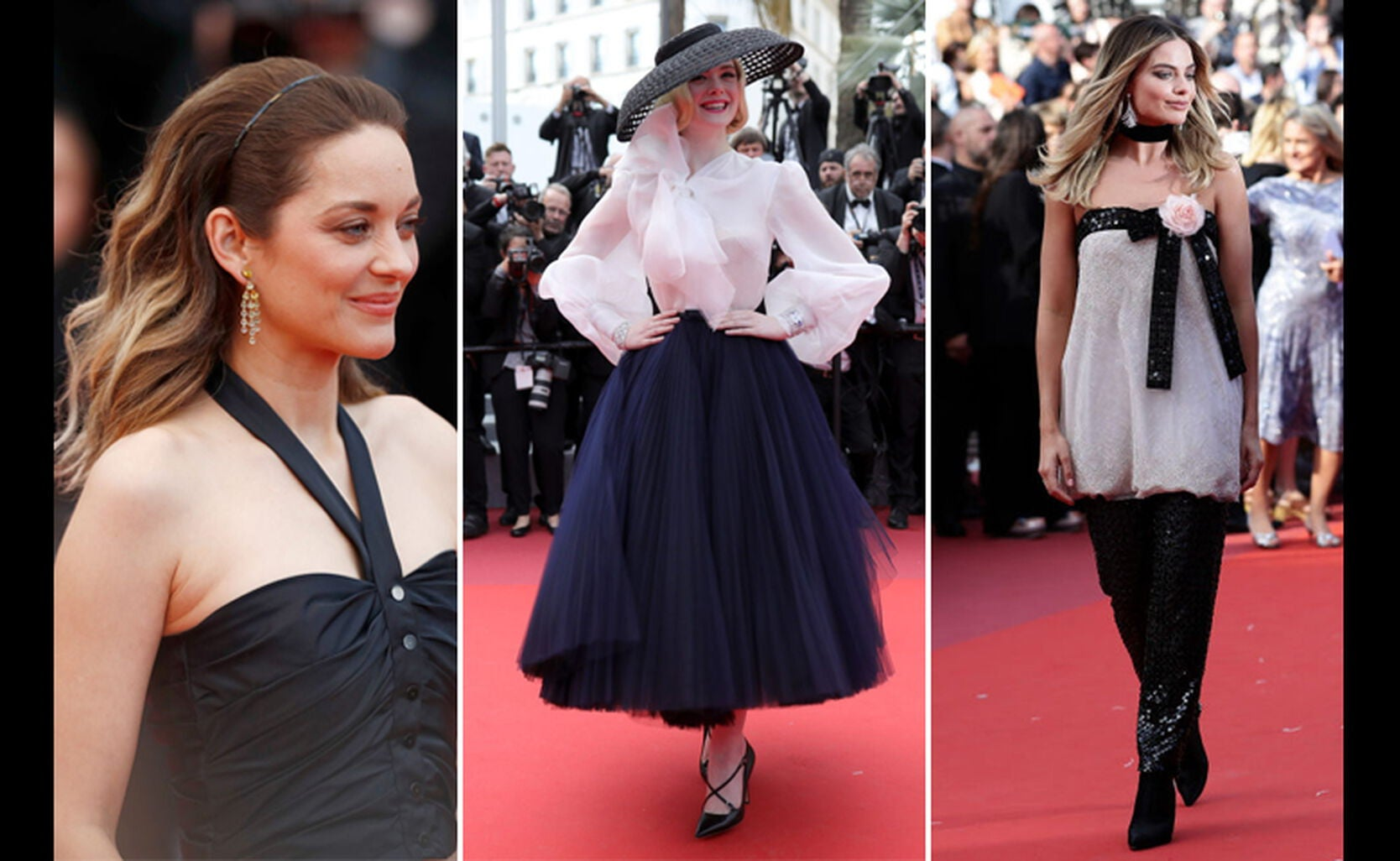 The Best Of Cannes Hair Hats And Flowers Golden Globes