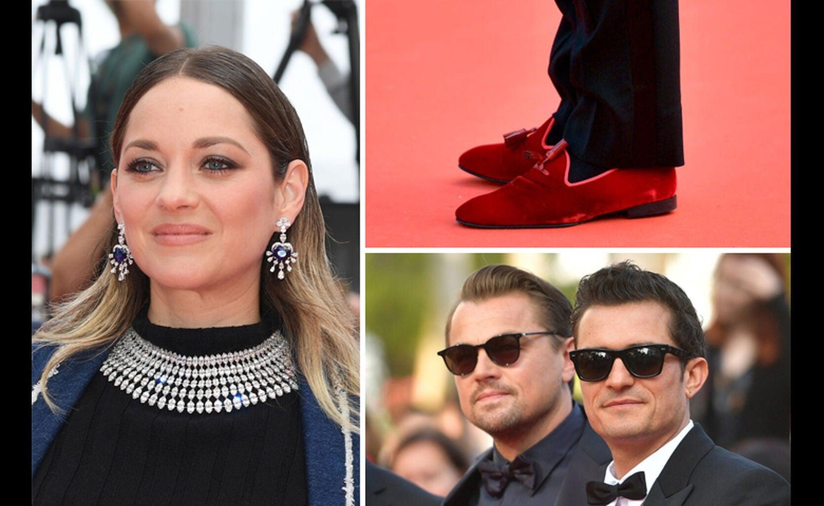 Marion Cotillard, Nusret Gokce aka Salt Bae, Leonardo DiCaprio with Orlando Bloom