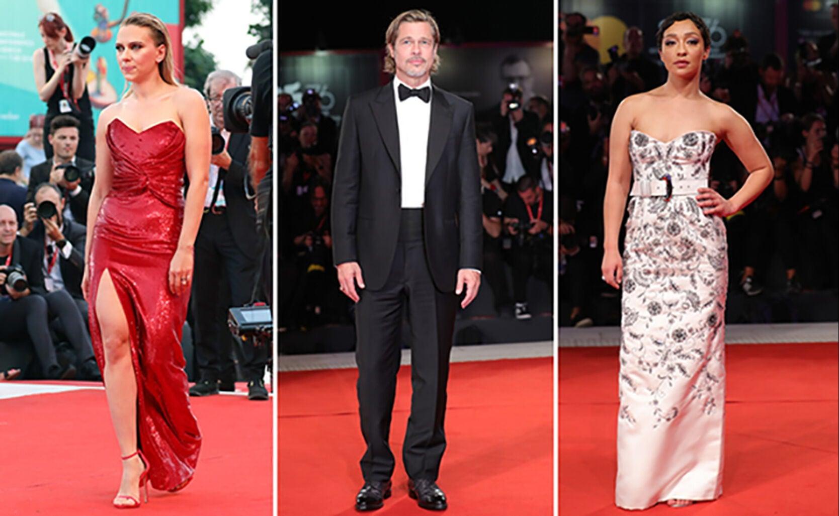 Scarlett Johansson, Brad Pitt, Ruth Negga