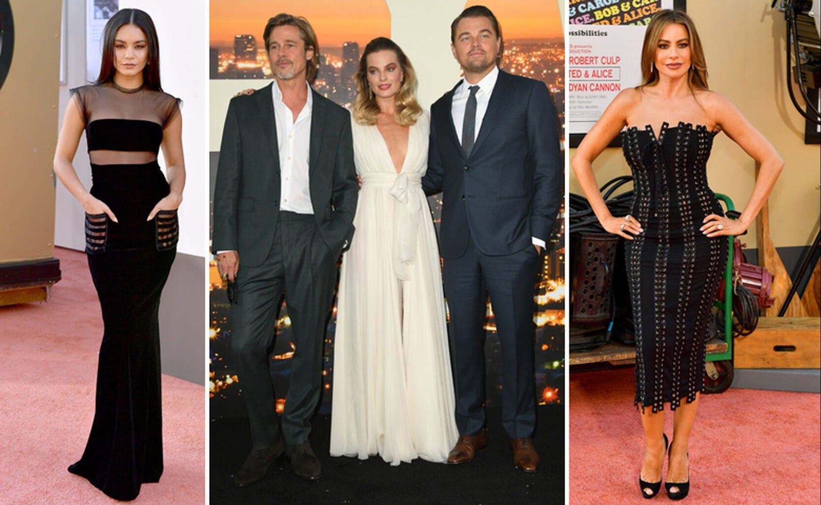 Vanessa Hudgens, Brad Pitt, Margot Robbie, Leonardo DiCaprio, Sofia Vergara