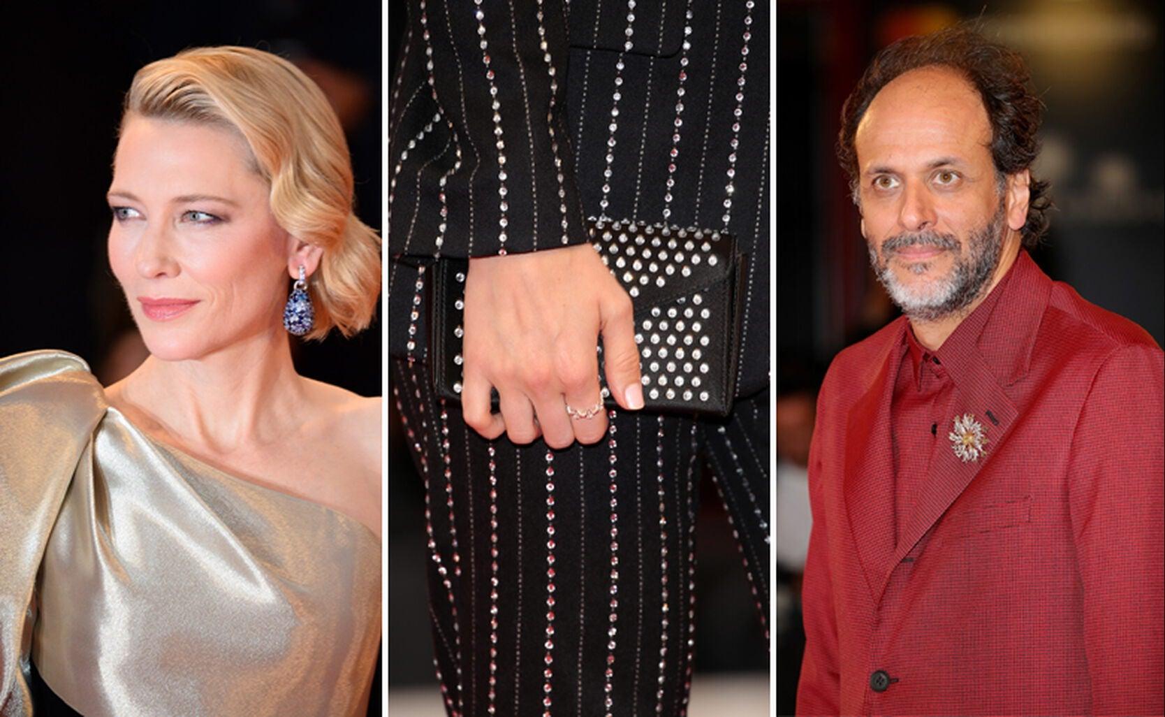 Cate Blanchett, Victoria Magrath, Luca Guadagino