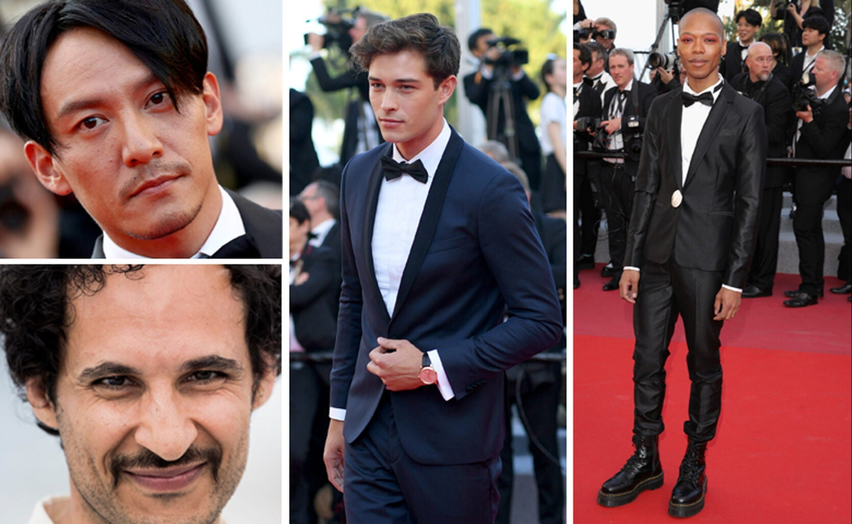 Chang Chen, Ali Abbasi, Francisco Lachowski and Nakhane Toure