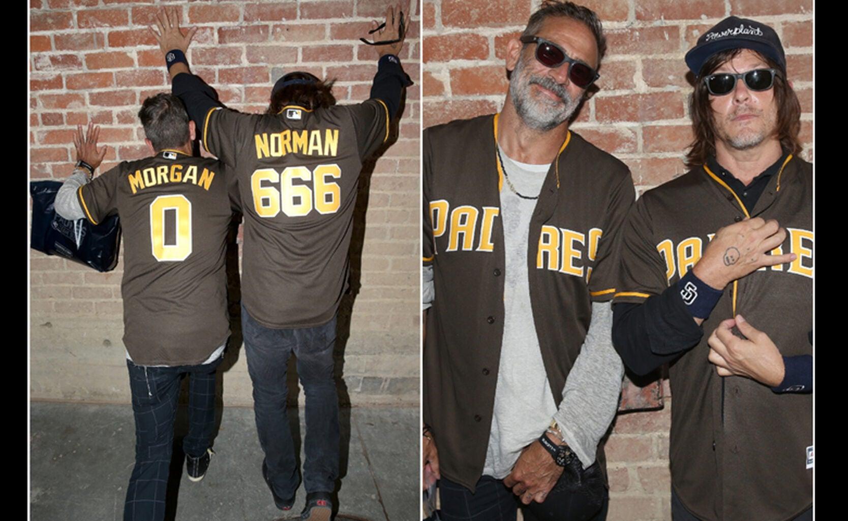 Actors Norman Reedus and Jeffrey Dean Morgan
