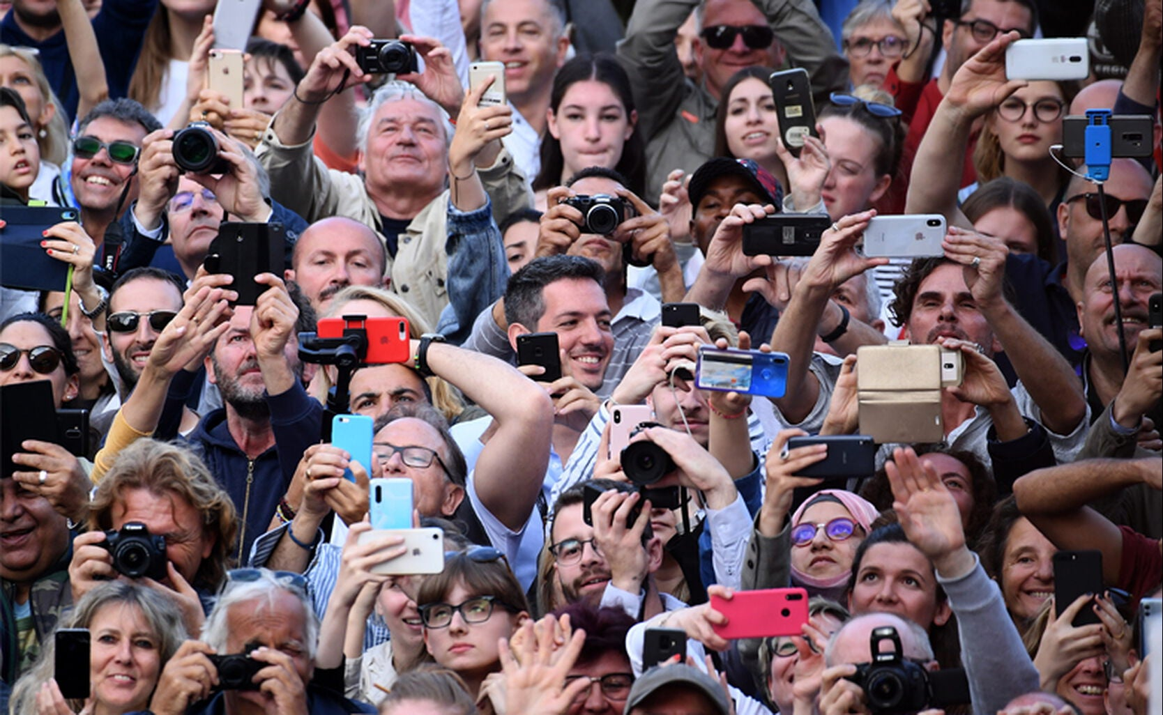 72nd Cannes Film Festival Crowd