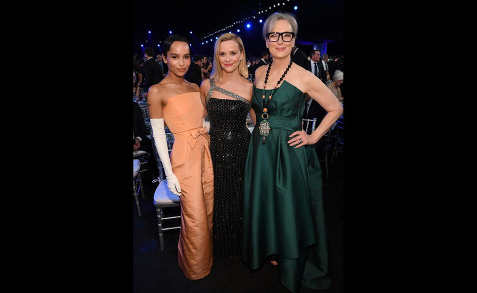 Zoe Kravitz, Reese Witherspoon, Meryl Streep