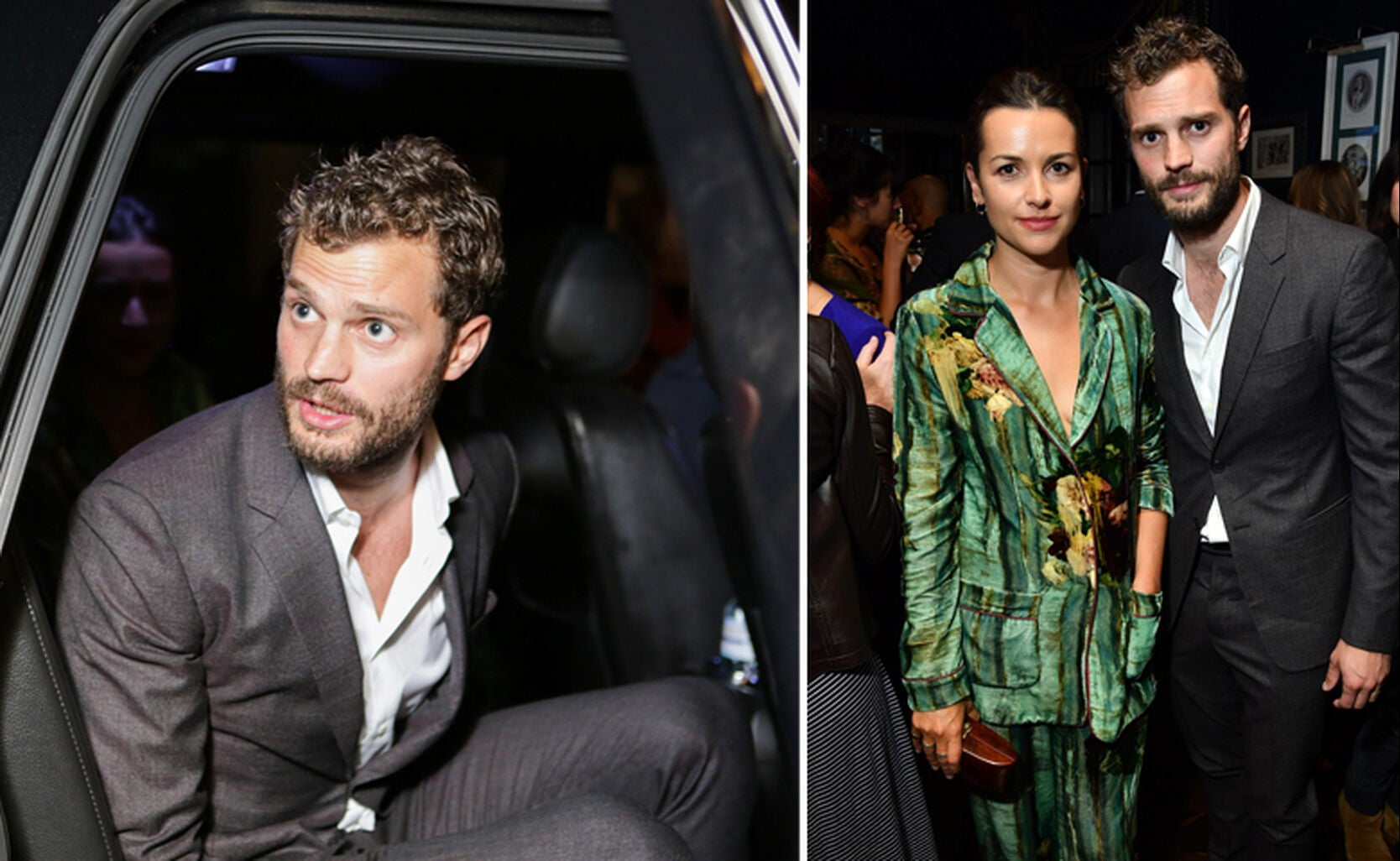 Jaimie Dornan and his wife, Amelia Warner