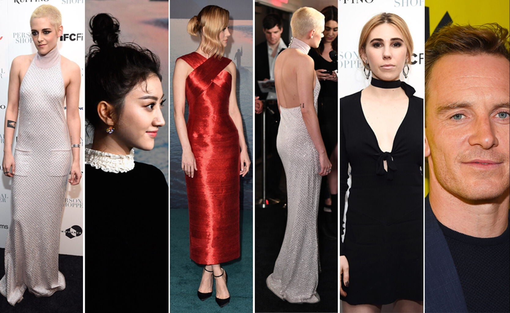 Kristen Stewart, Tian Jing, Brie Larson, Kristen Stewart, Zosia Mamet and Michael Fassbender