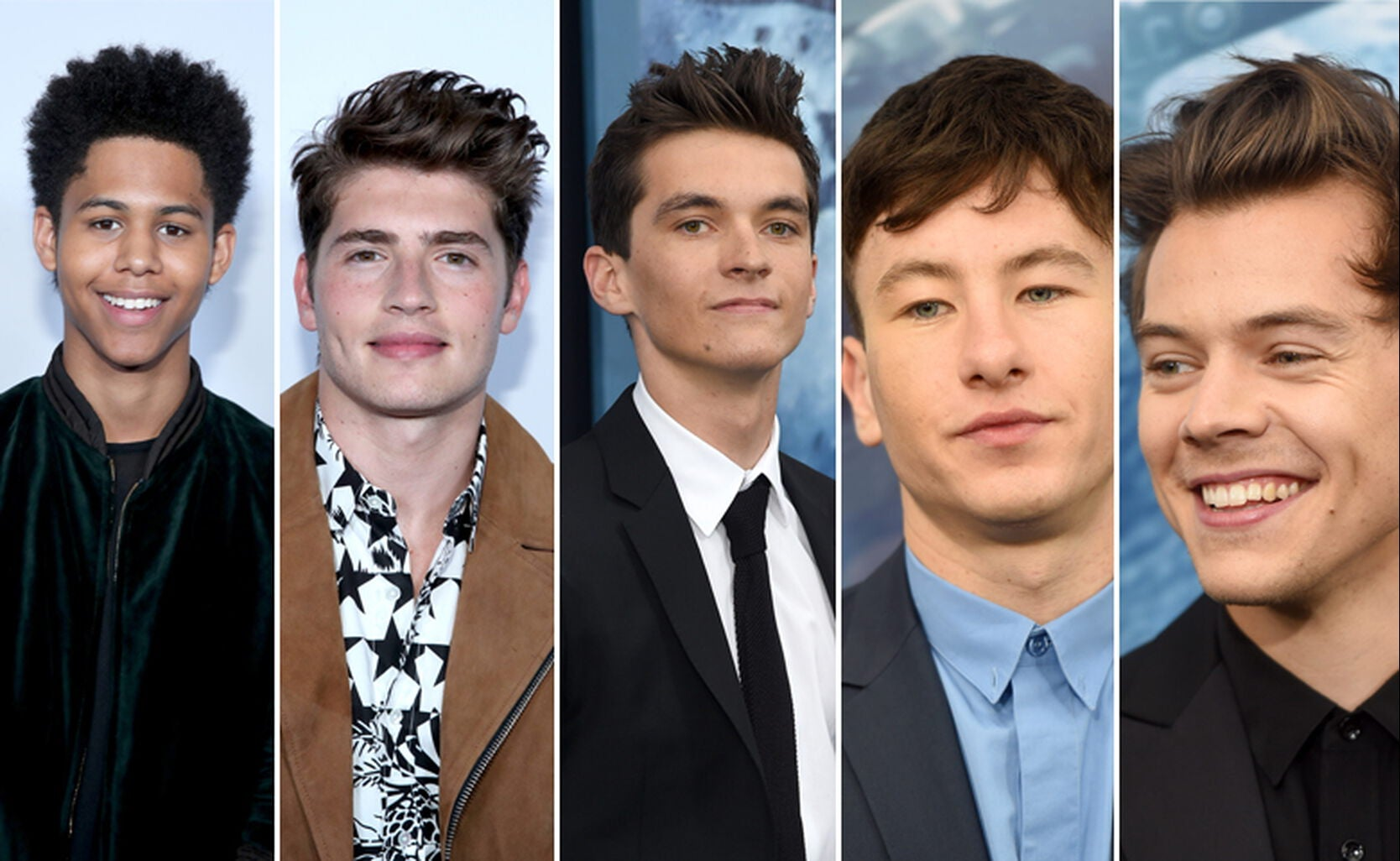 Rhenzy Feliz, Gregg Sulkin, Fionn Whitehead, Barry Keoghan and Harry Styles