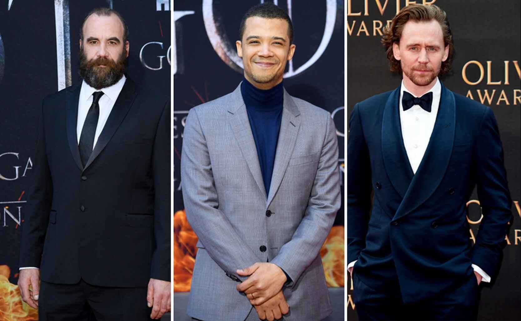 Rory McCann, Jacob Anderson, Tom Hiddleston