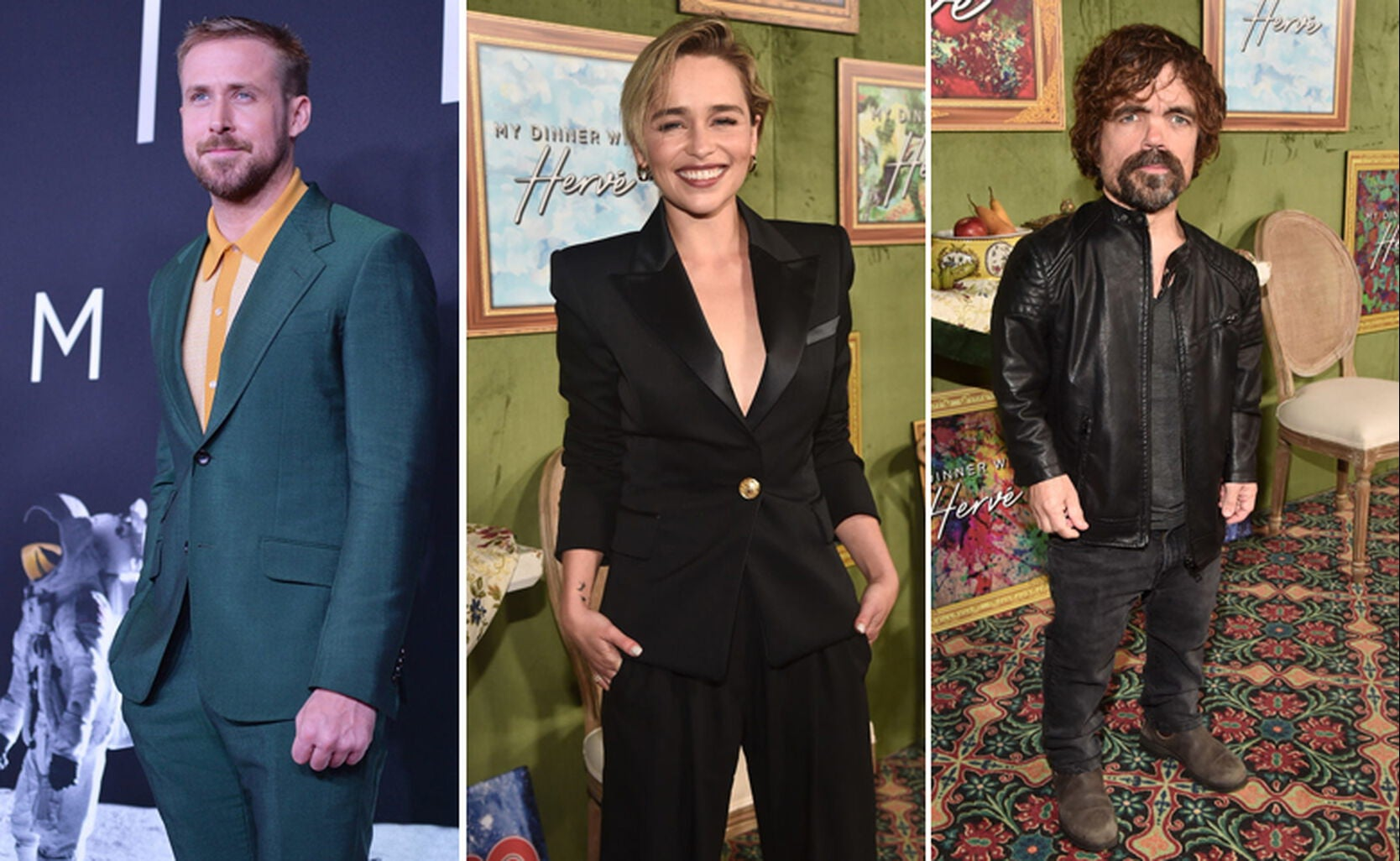 Ryan Gosling, Emilia Clarke, Peter Dinklage