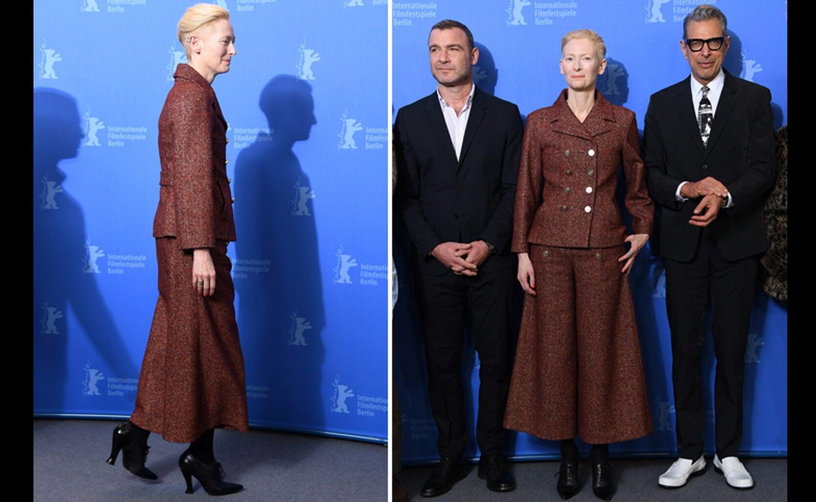 Tilda Swinton, Liev Schreiber and Jeff Goldblum